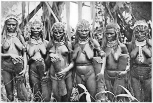 naked women new guinea