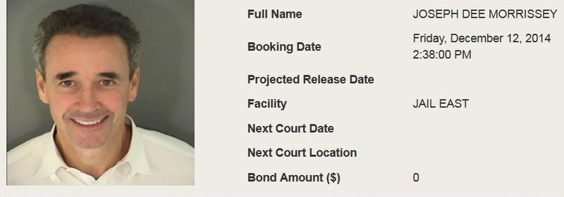 Joe Morrissey Inmate Detail