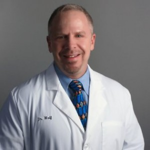 Manhattan dentist Dr John Wolf